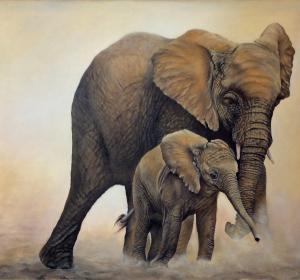 Elefanten→